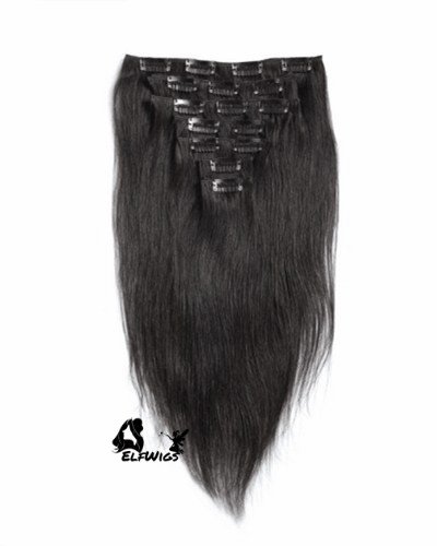 Indian Remy Clip-in Hair Extensions-HP009