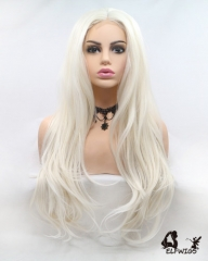 "OD008-24"" 2019 the most fashionable new white wave small lace wig"